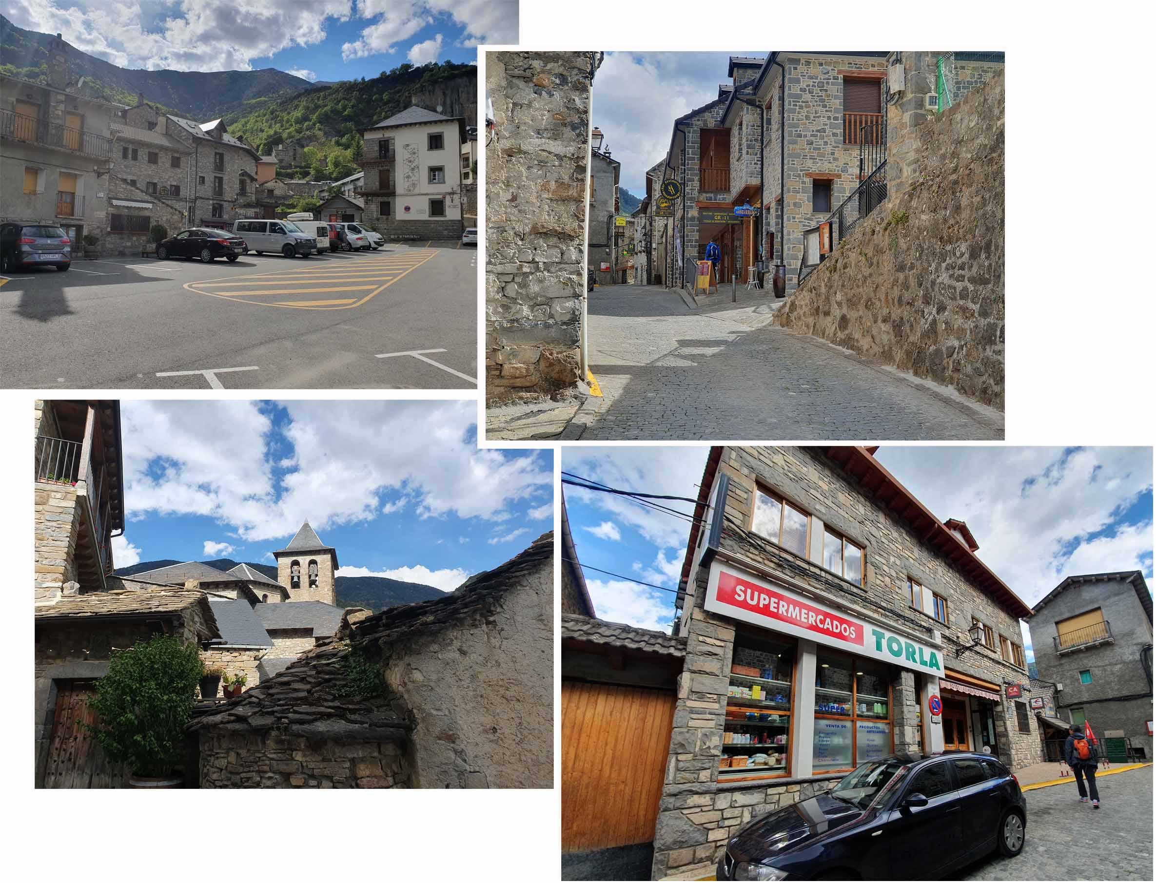 Torla Ordesa town
