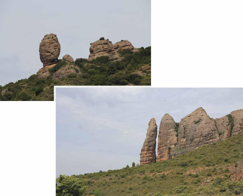 Parts of Los Mallos Augero