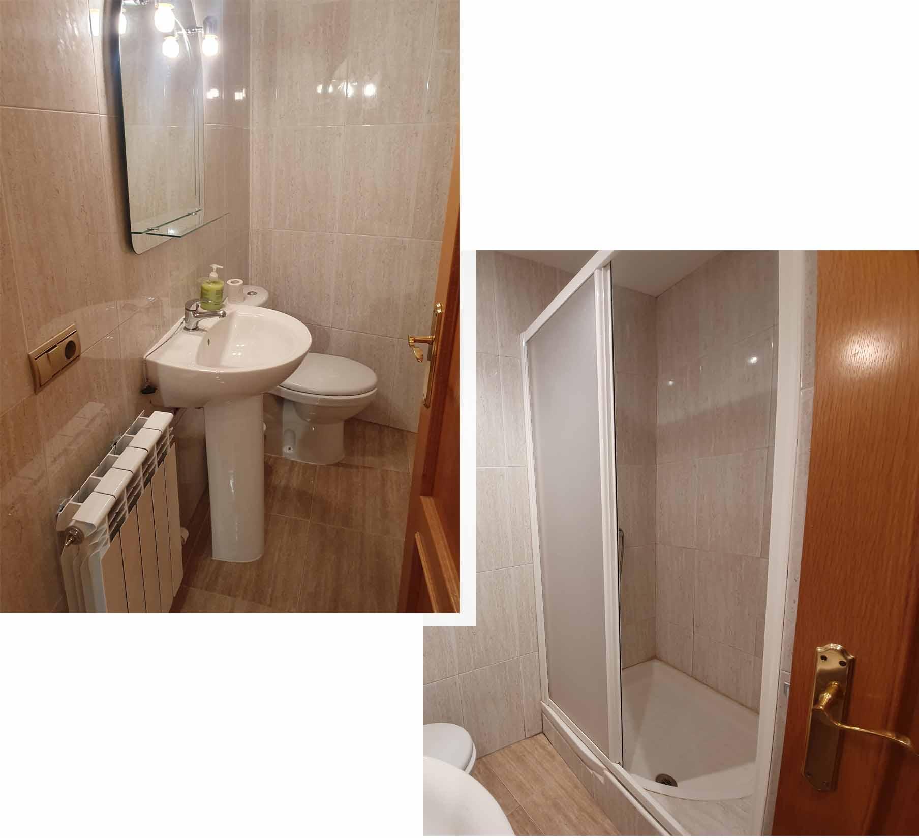 Toilet at Apartmento Lizanzu 1