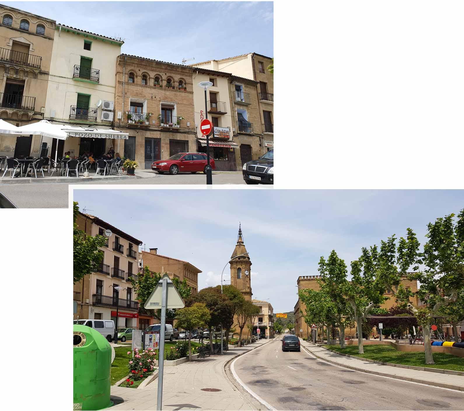 Ayerbe town