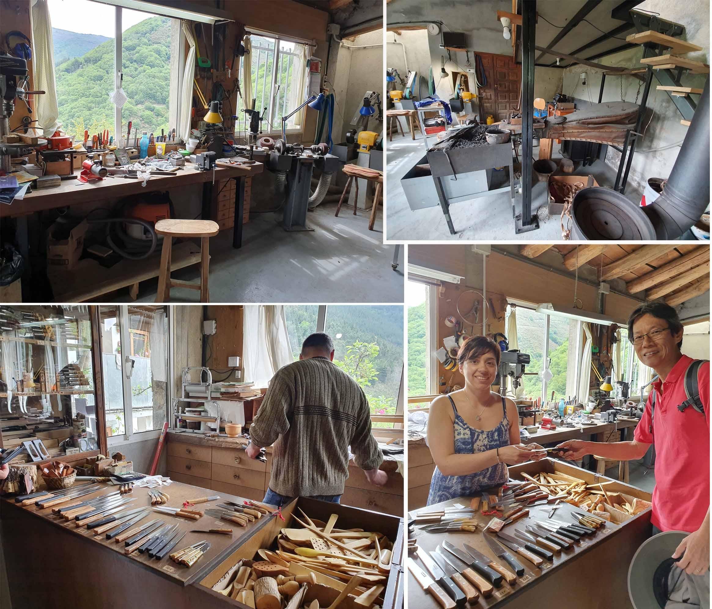 Knife Craftsman workshop