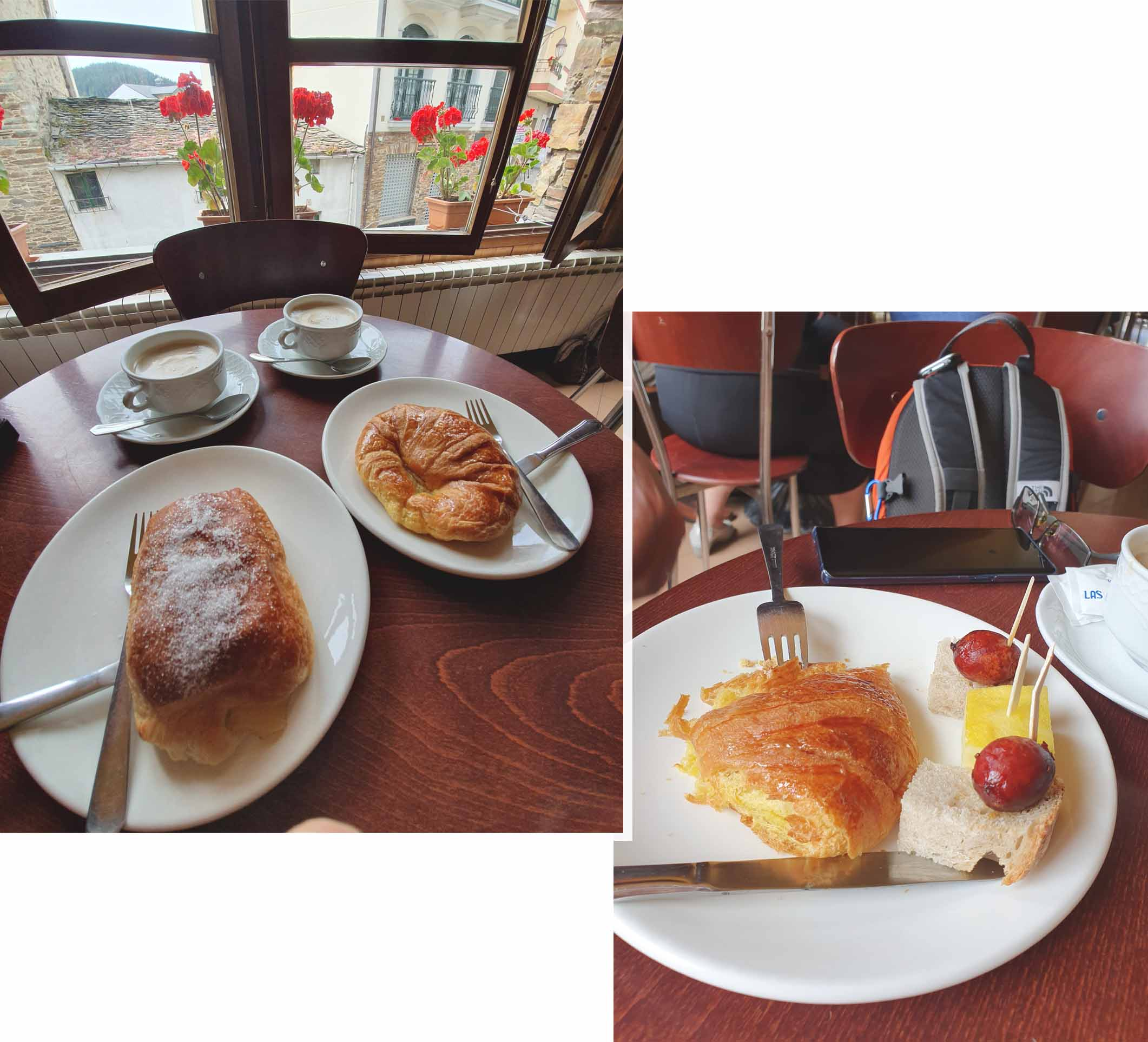 Coffee break with free tapas