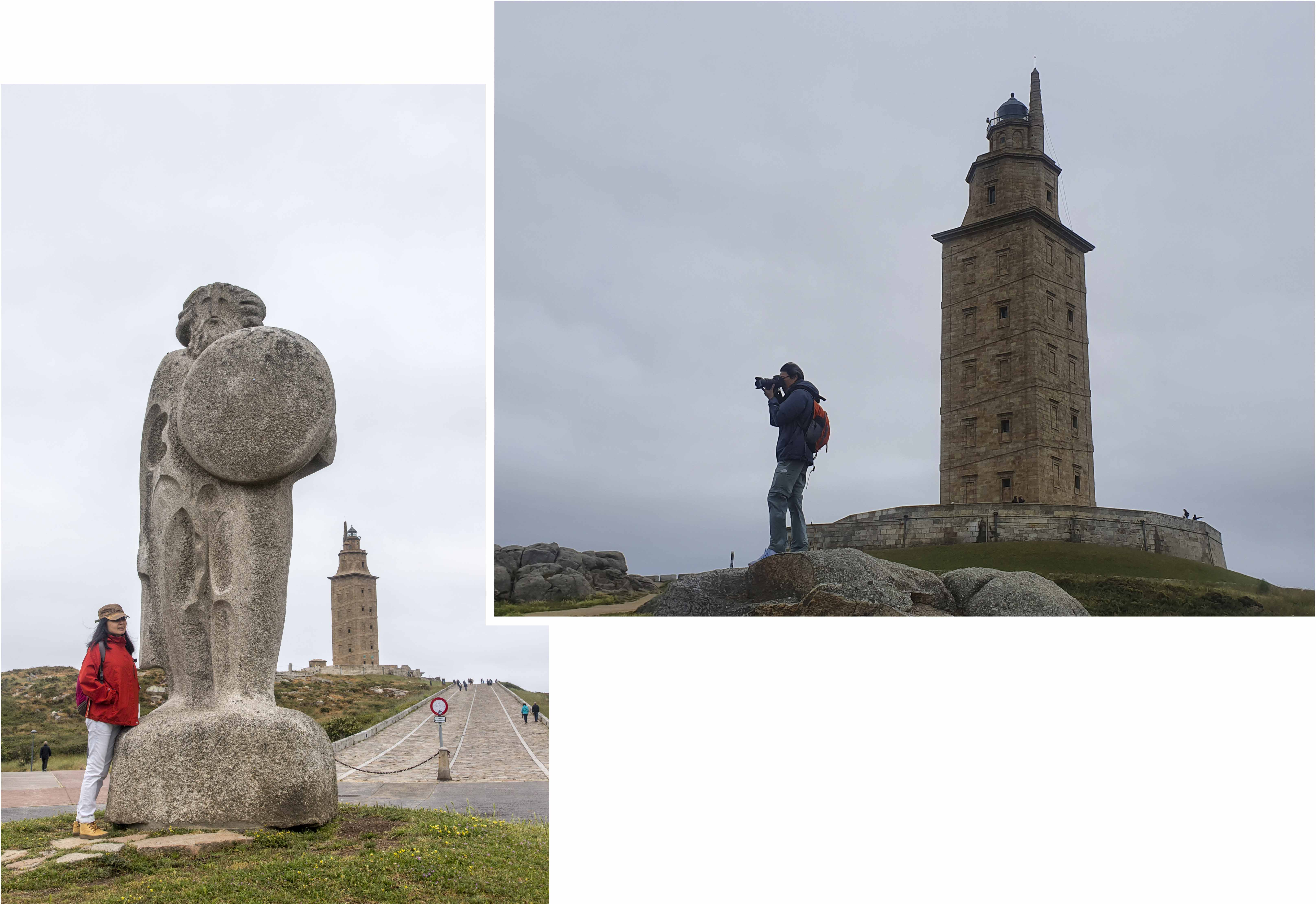 Tower of Hercules and Breogan