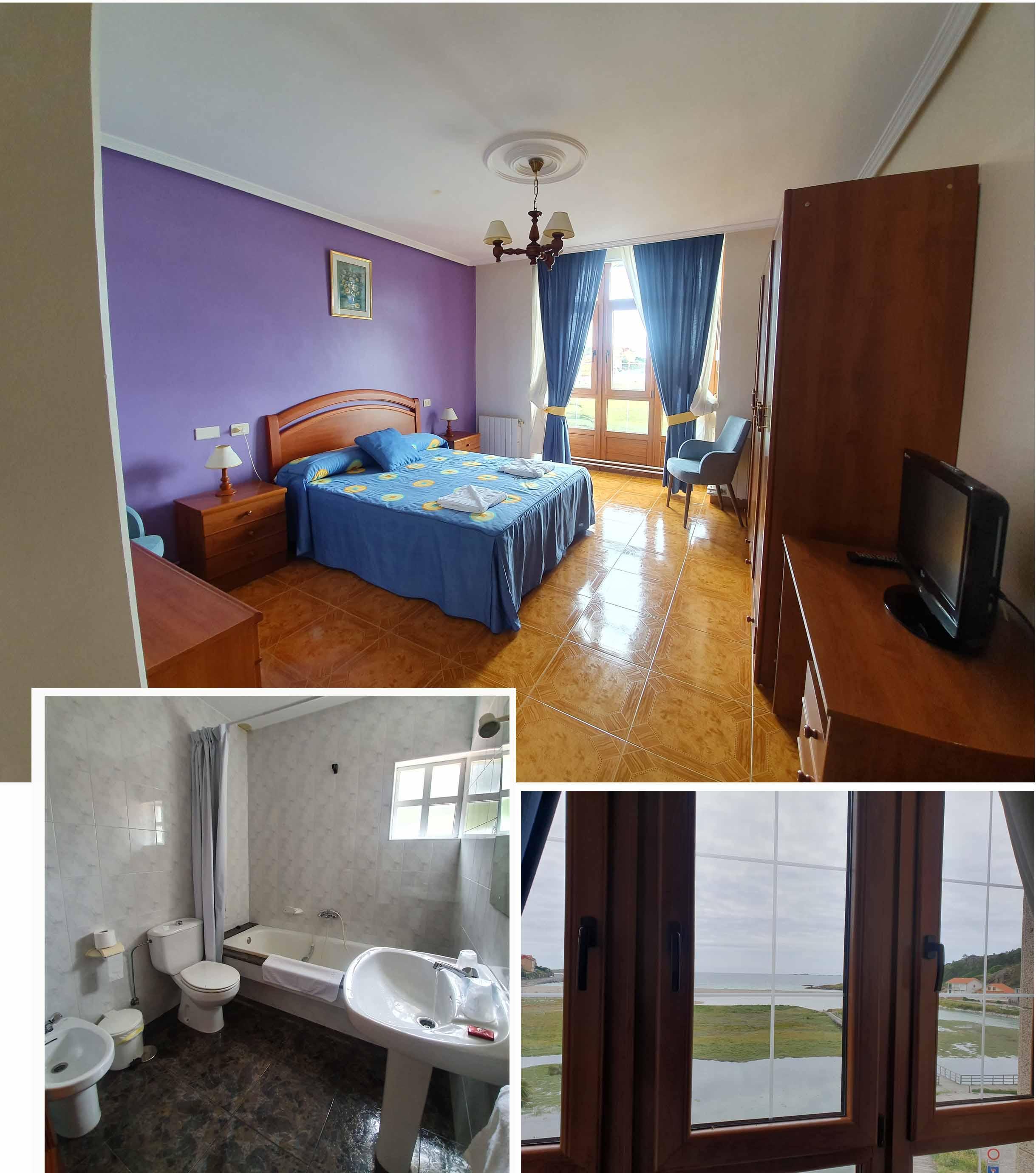 Our room at Pensión Sol y Mar