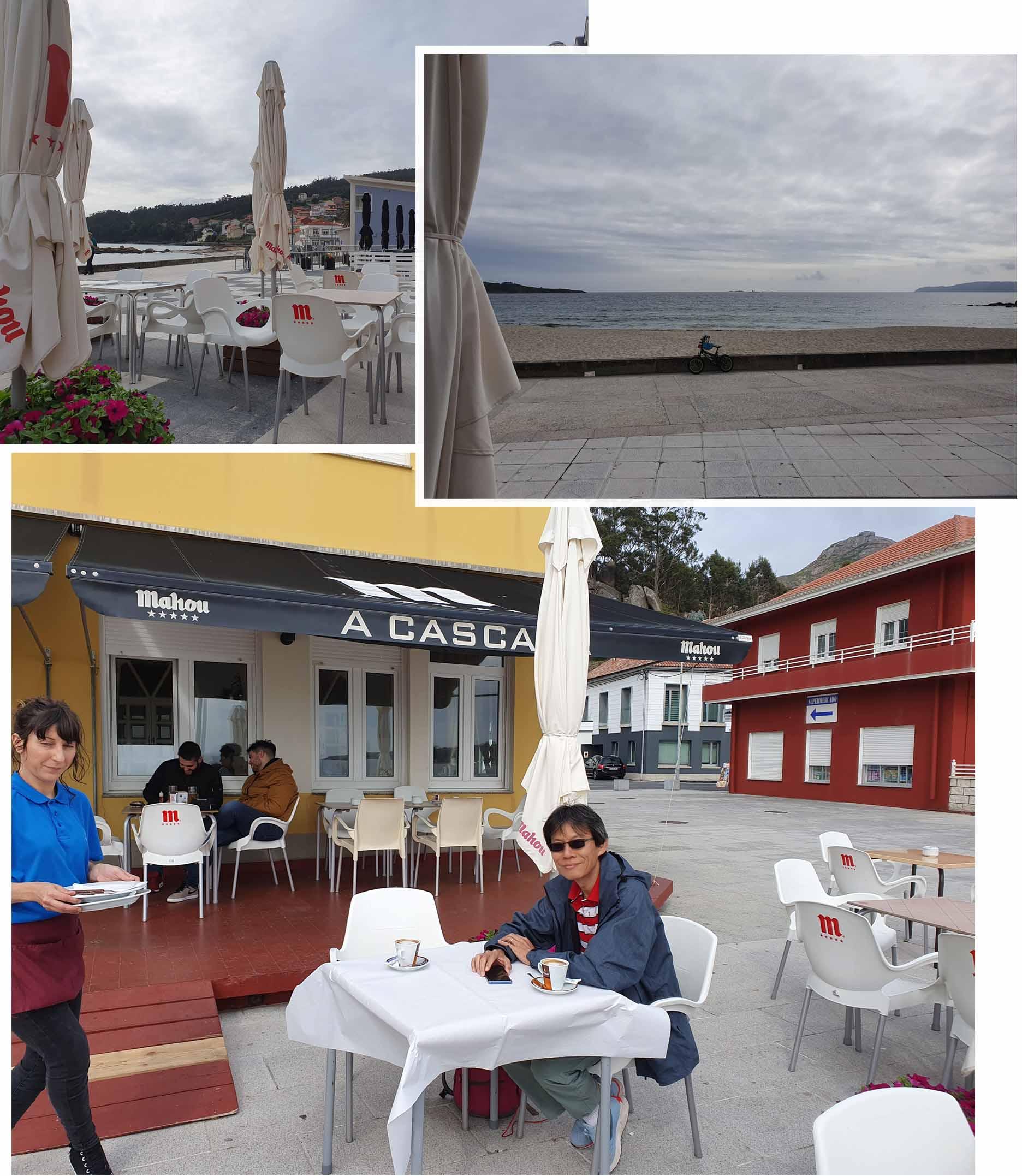 """Dinner at """"Cascade do Ezaro"""" restaurant"""