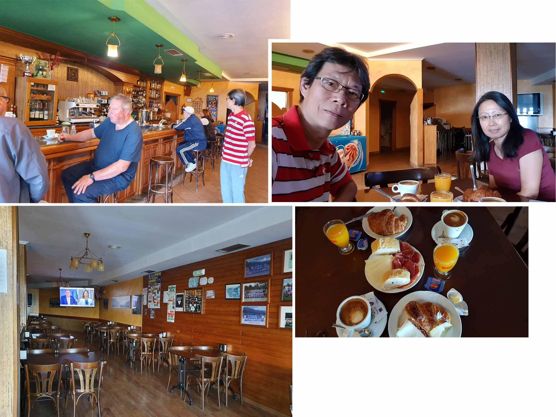 Breakfast at Pension Sol y Mar