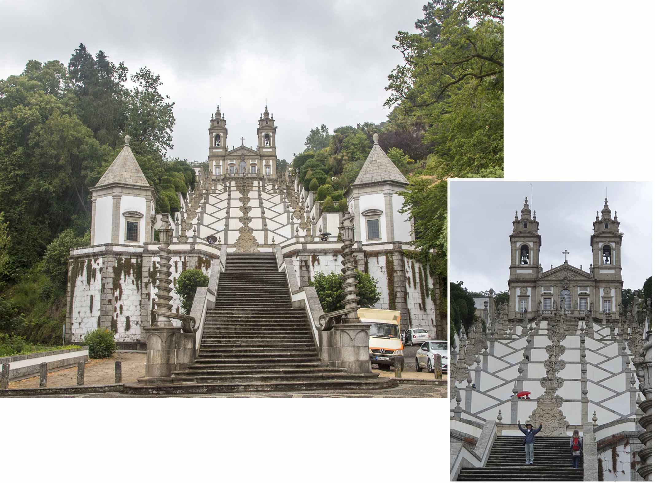 Baroque stairs of Bom Jesus do Monte