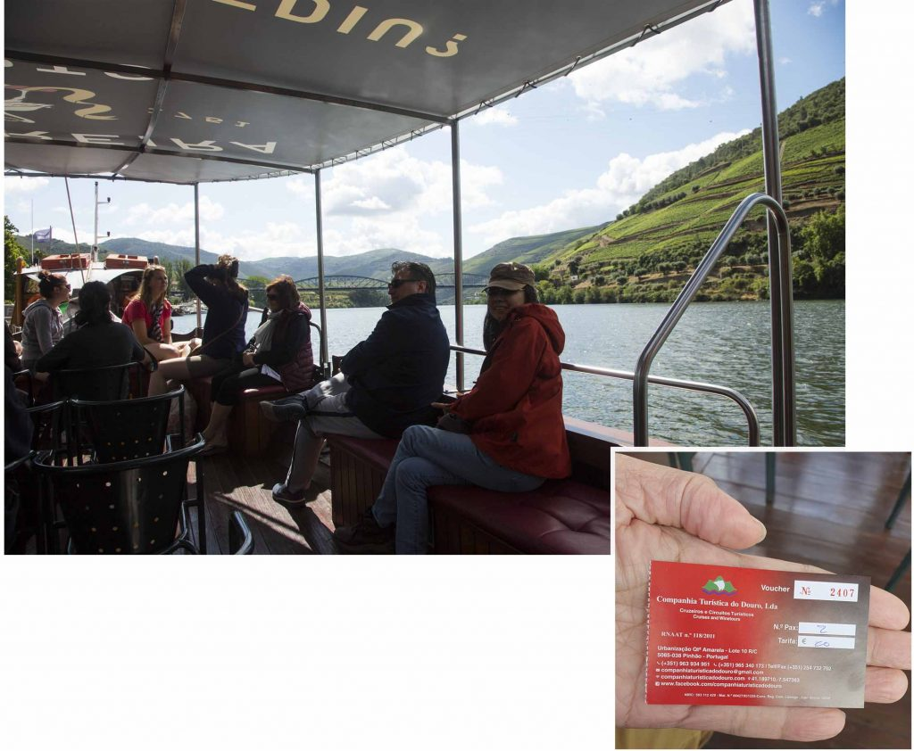 Boat tour down Douro River