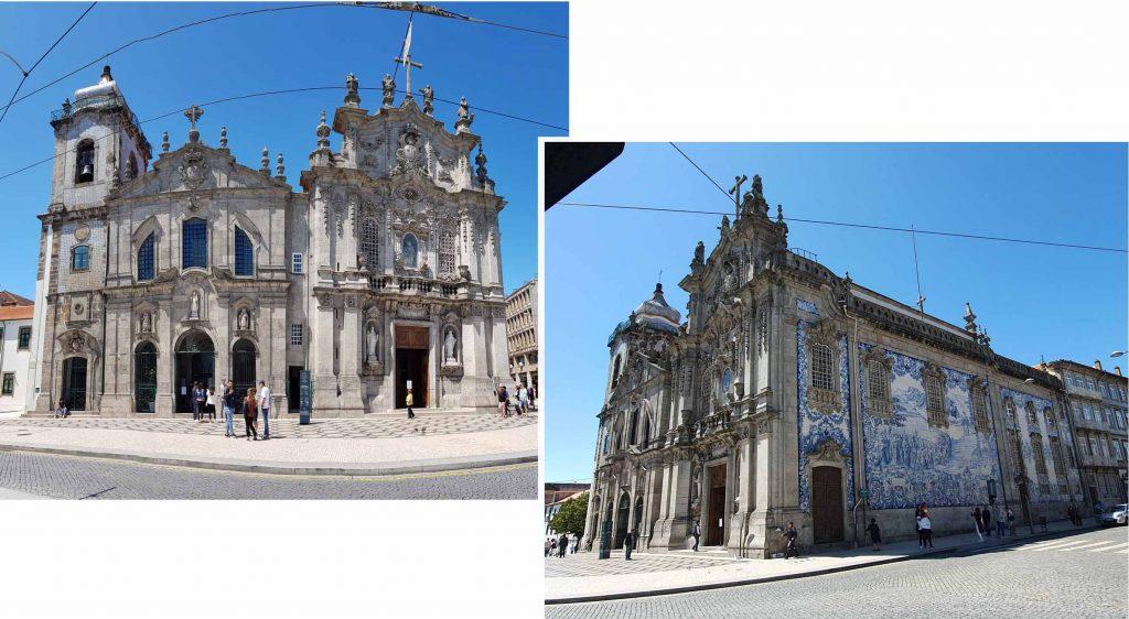 Igreja do Carmo and Igreja dos Camelita