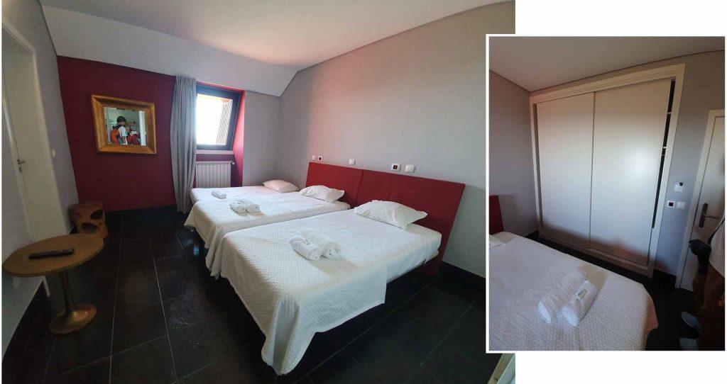 """Our double room at """"HI Serra da Estrela - Pousada de Juventude"""""""