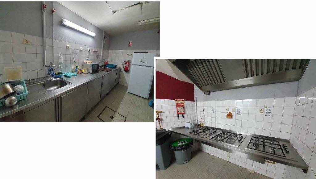"""Shared kitchen at """"HI Serra da Estrela - Pousada de Juventude"""""""
