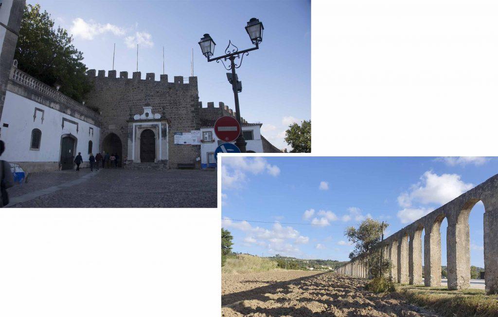 Porta da Vila de Óbidos & Aqueduct of Obidos