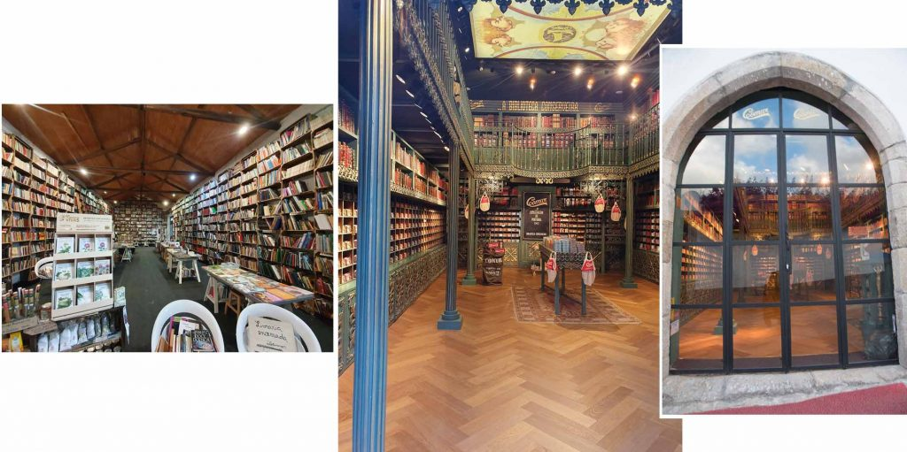Bookstores in Obidos town