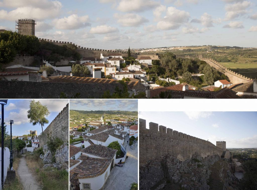 The fortress of Obidos town