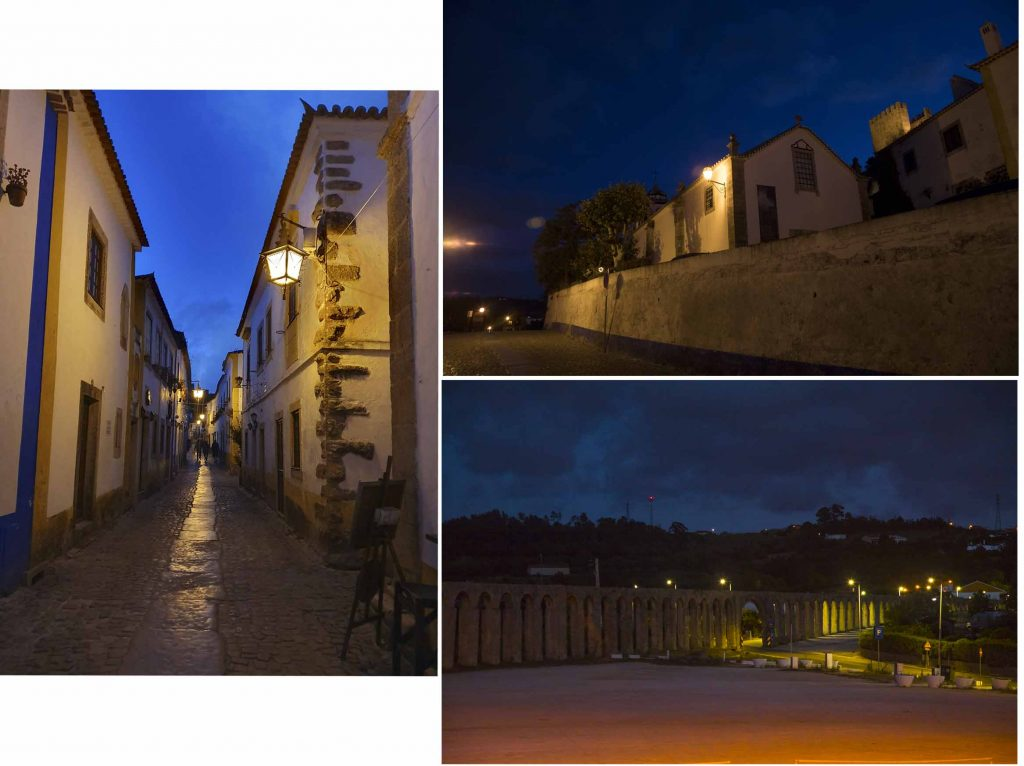 Night lights of Obidos