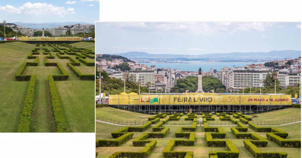 Maze of Parque Eduardo VII