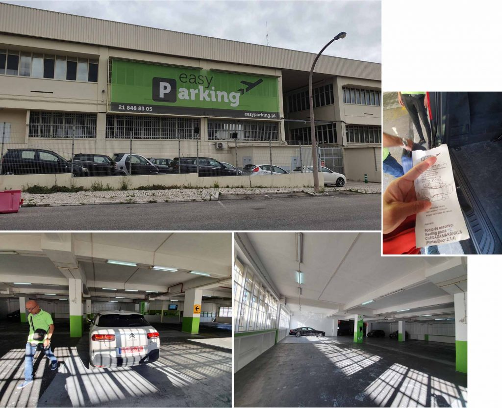 easyParking premises at Lisbon