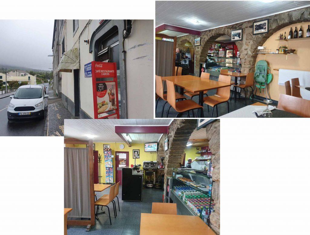 Cafe restaurant 3 Arcos