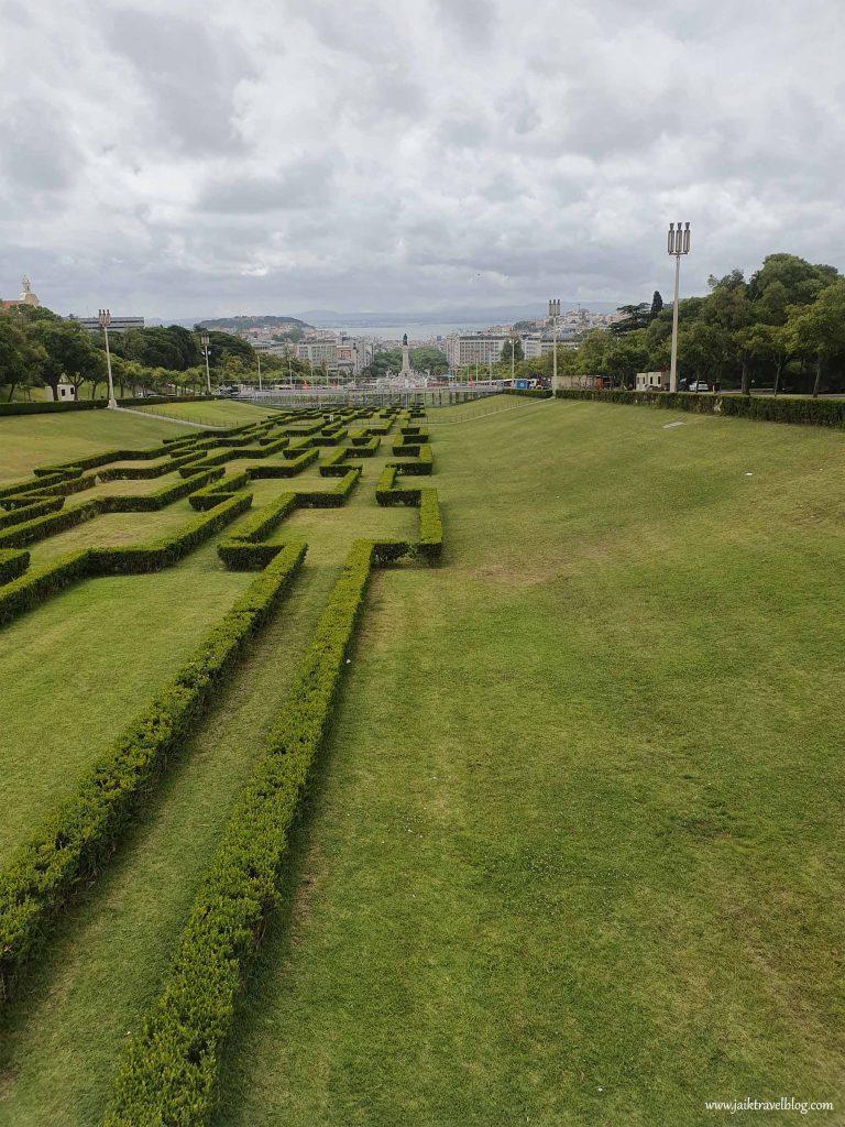 Maze garden of Parque Eduardo VII