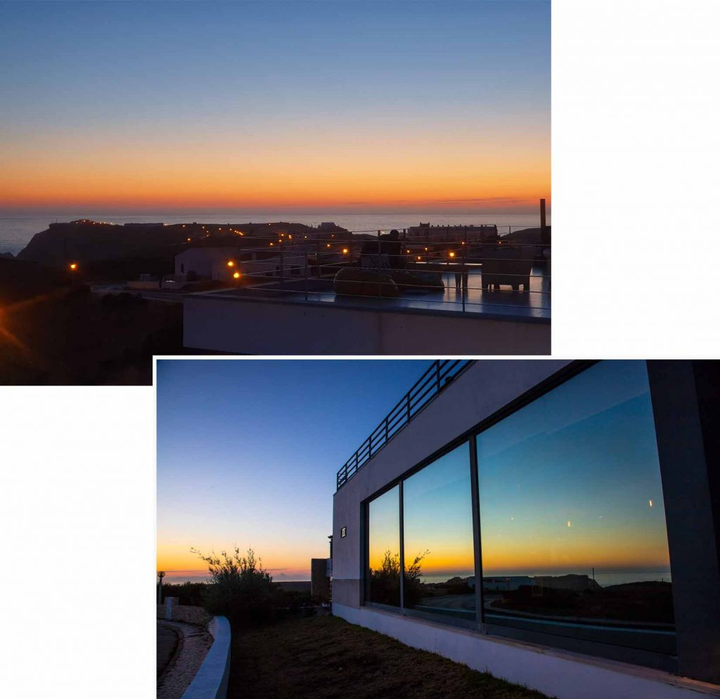 """Beautiful scenery seen from our """"stay"""" after the sun set over the horizon."""