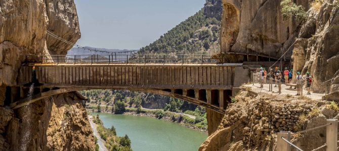 Day 37:  Caminito Del Rey & Colomares Castle