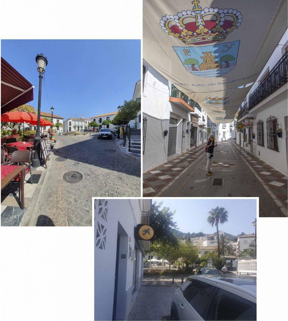 The streets of Benalmadena Pueblo