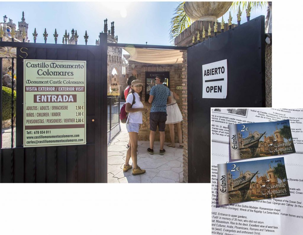 Entrance to Colomares Castle