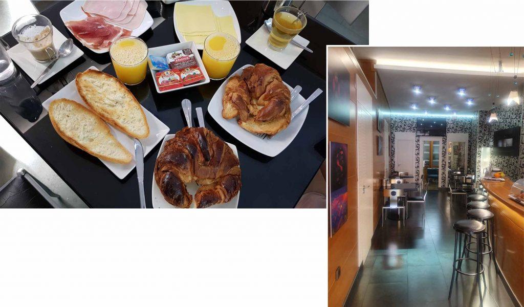 Breakfast at Hotel Molinos