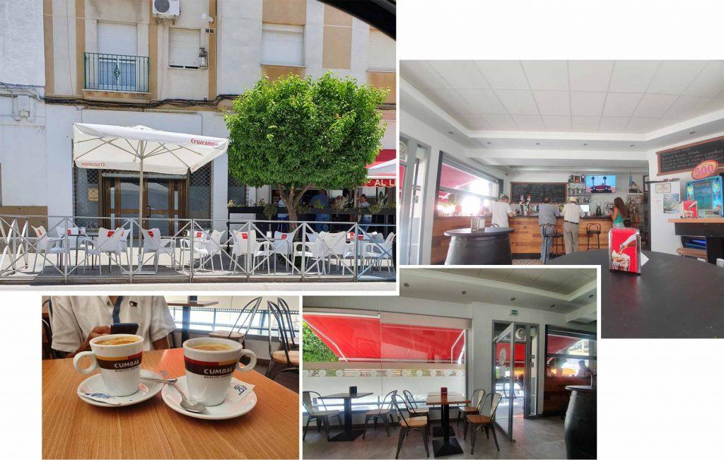 Coffee break at Baena