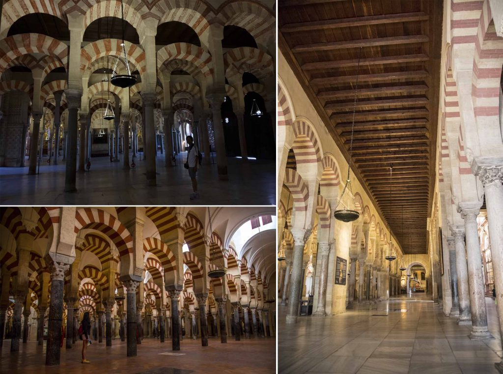 Hypostyle hall of Mezquita-Catedral de Cordoba