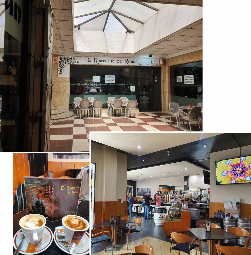 Coffee break at El Rinconcito de Raul