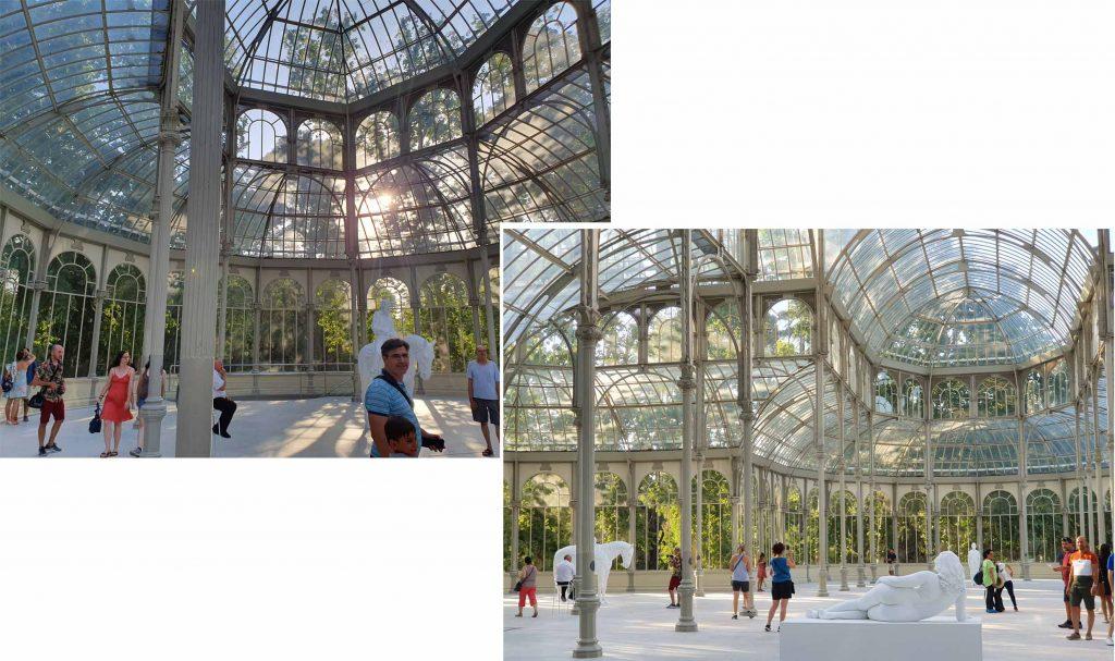 Interior of Palacio de Cristal
