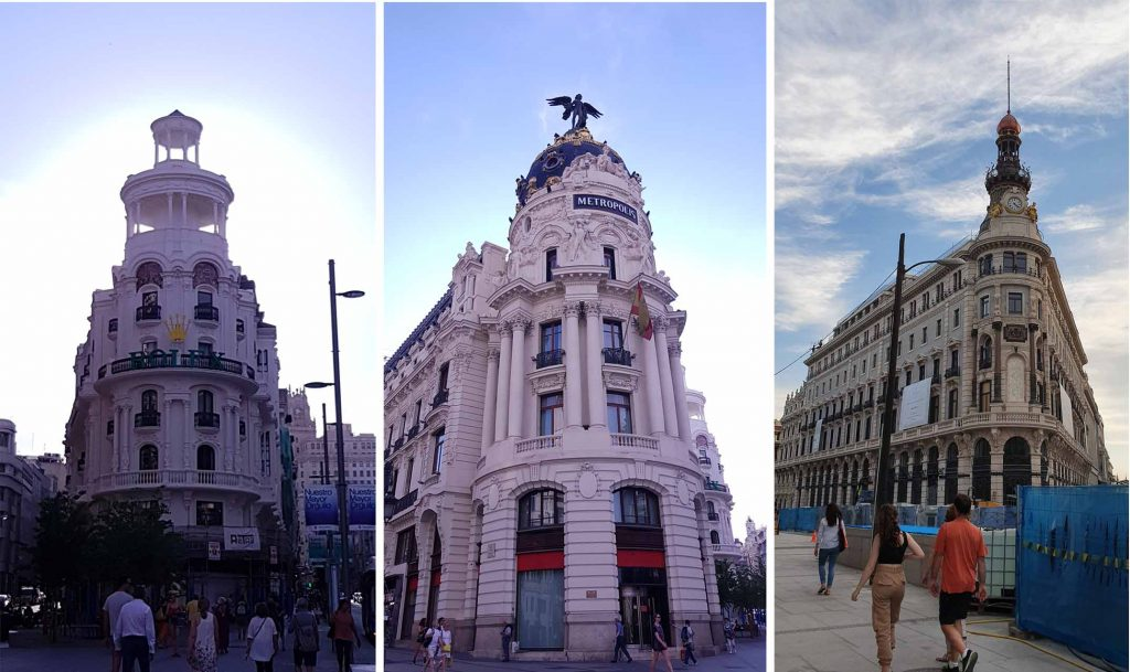 Grand Buildings of Madrids