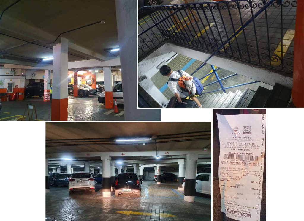 Parking at Garage Ronda de Atocha