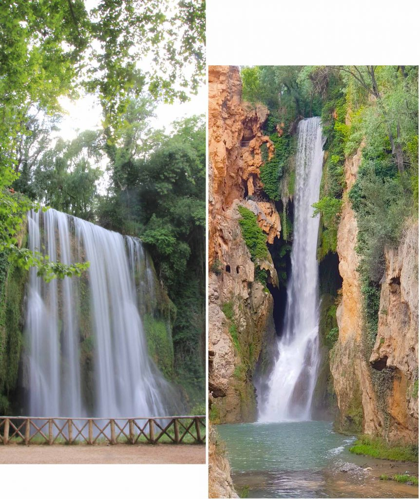 Waterfalls at Monasterio de Piedra Natural Park