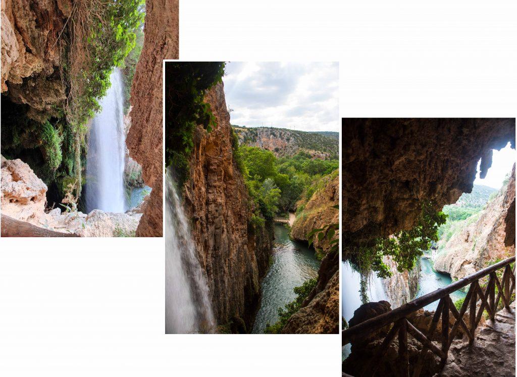 On our way to Iris Cave at Monasterio de Piedra Natural Park