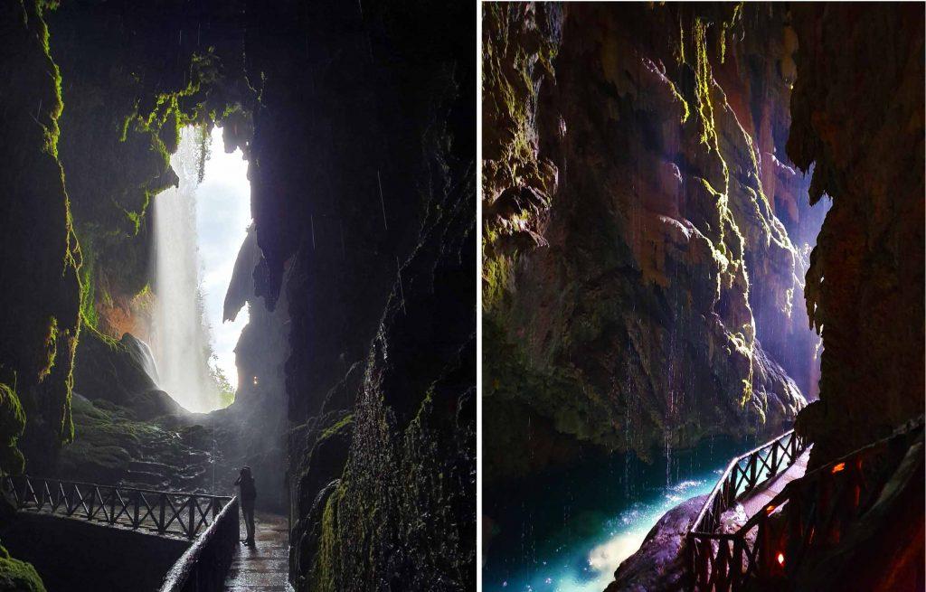 Iris Cave at Monasterio de Piedra Natural Park