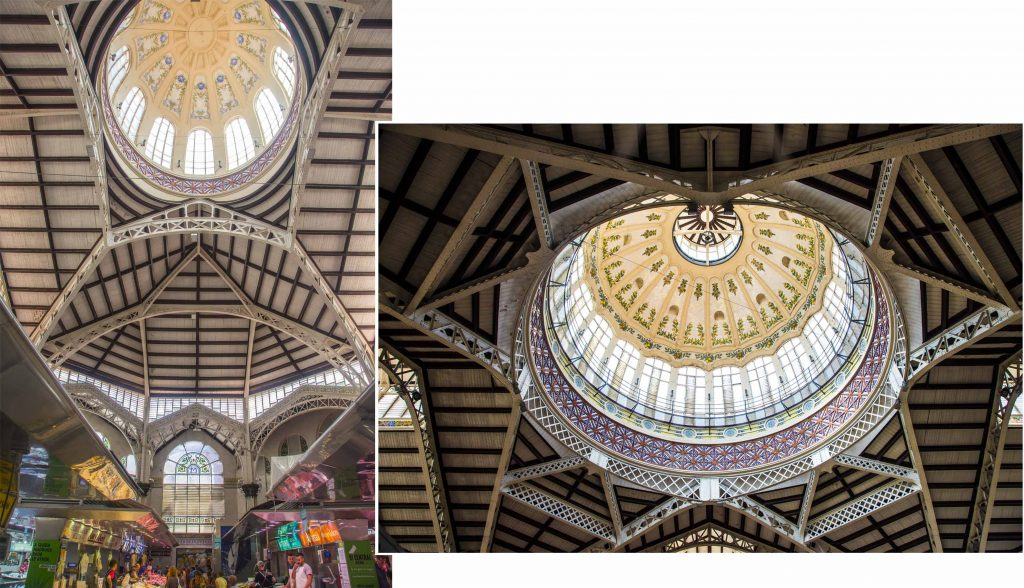 Awesome roofs - The Central Market of Valencia