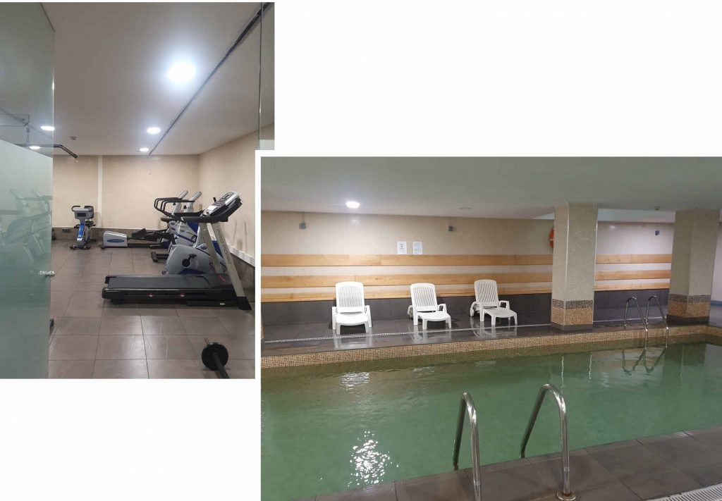 Hotel Gym and swimming pool