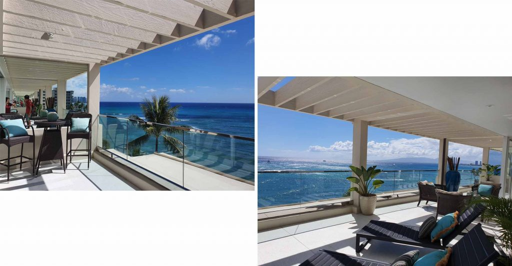Million dollar view of Wakiki Beach front pent house