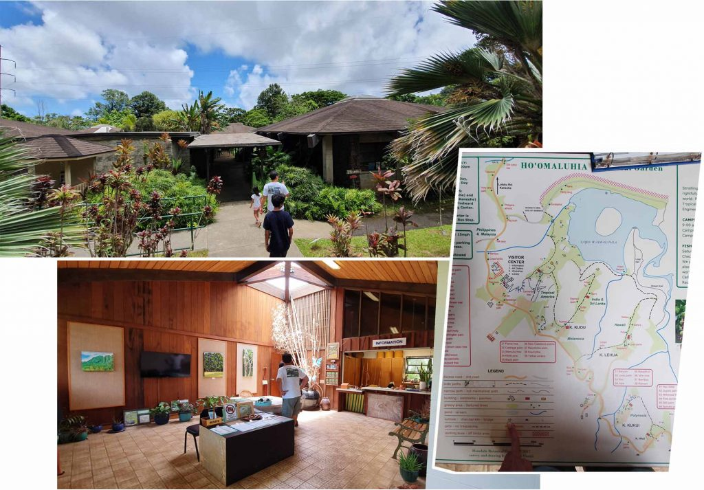 Visitor center at Ho'omaluhia Botanical Garden