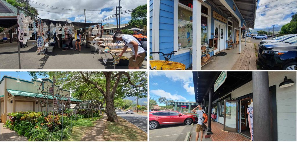Haleiwa Town at the North Shore