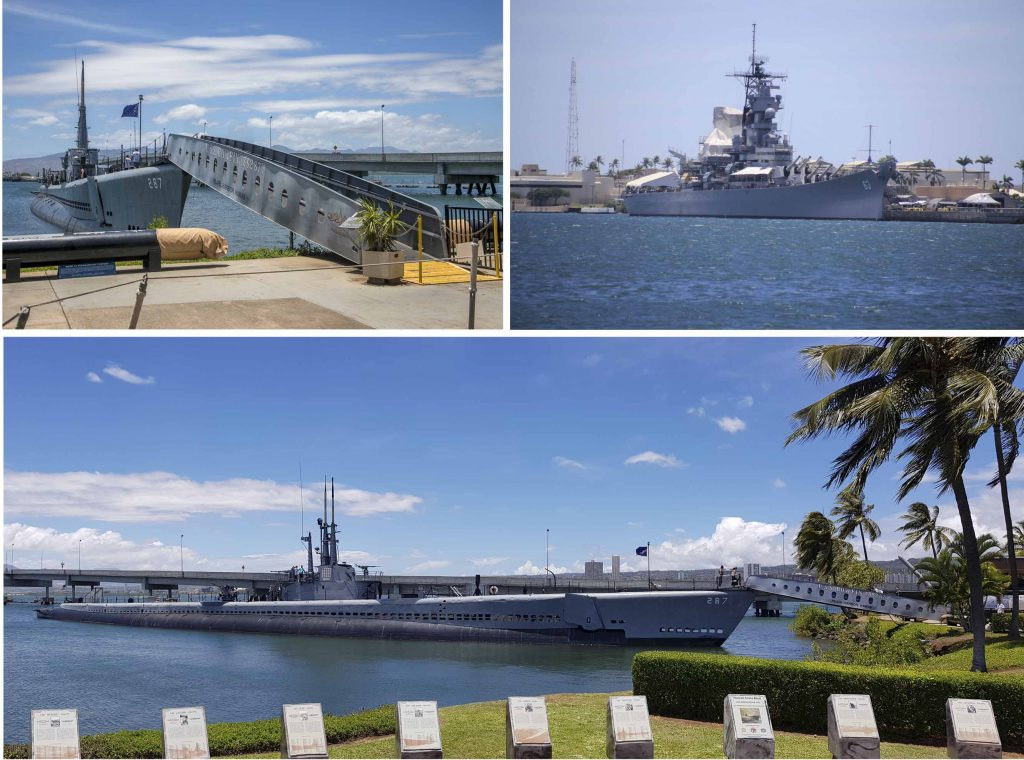 Warships at Pearl Harbour