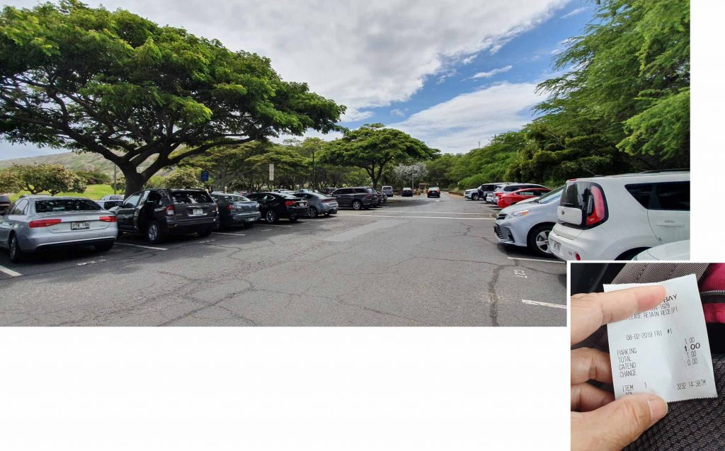 Hanauma Bay Car Park