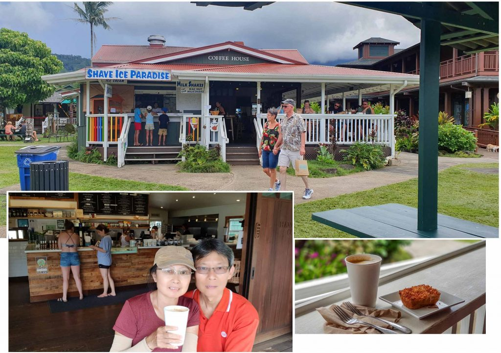 Coffee Break at Hanalei Village
