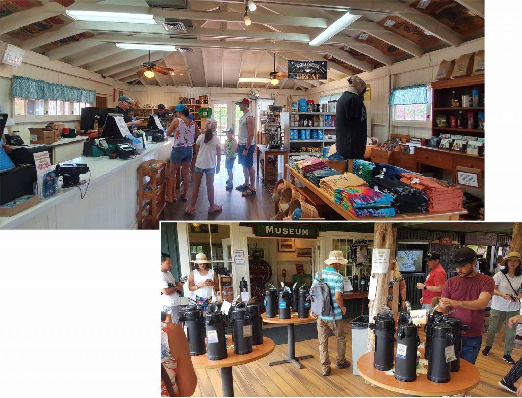 Coffee shop at Kauai Coffee Company