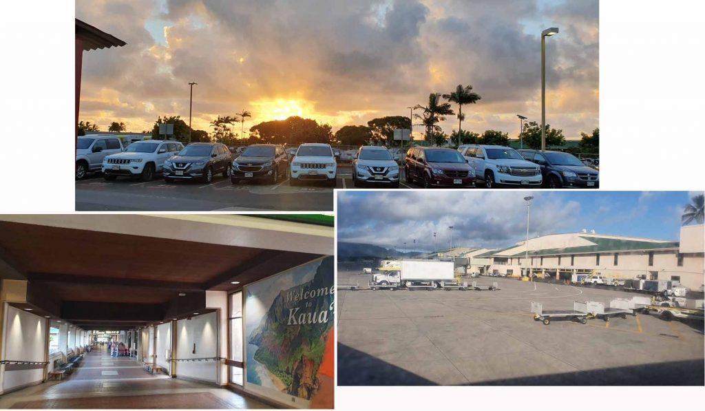 Leaving Kauai Airport