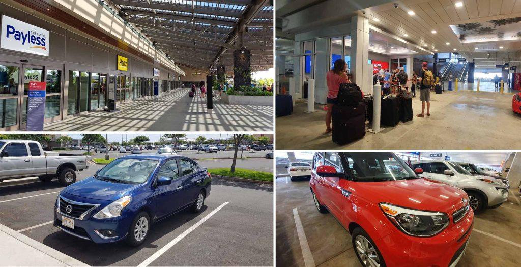 Car Rental Center at Kahului Airport
