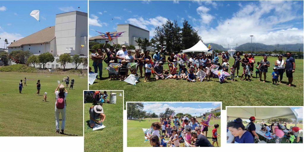 Japanese community Kite Festival in Maui