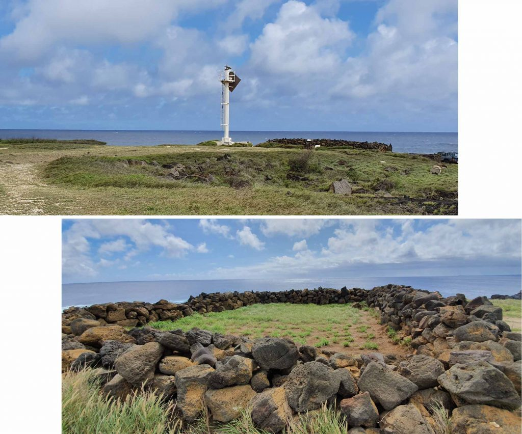 Lighthouse and Heiau at South Point